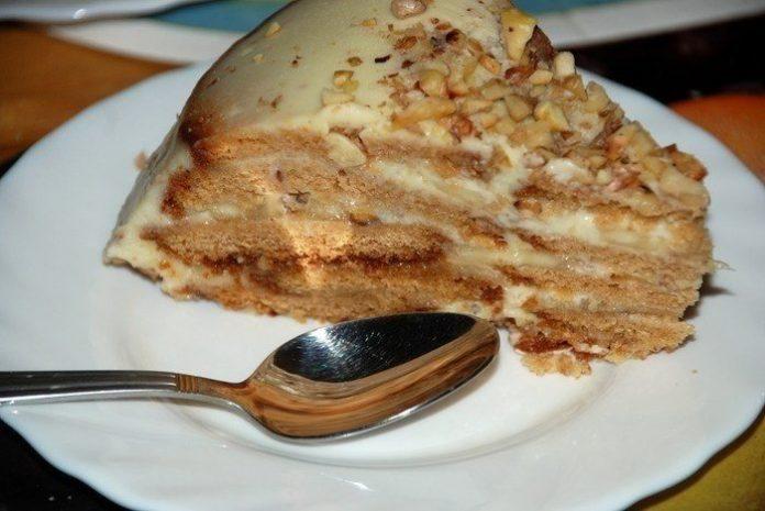 Холодный торт — никогда не догадаетесь из чего приготовлен этот шедевр!