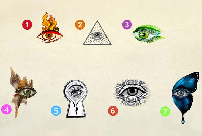 Выбери глаз и узнай ответ!