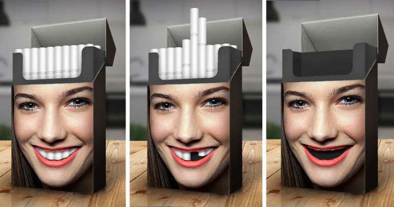 Самые убедительные примеры антитабачной рекламы, которые вы когда-либо видели