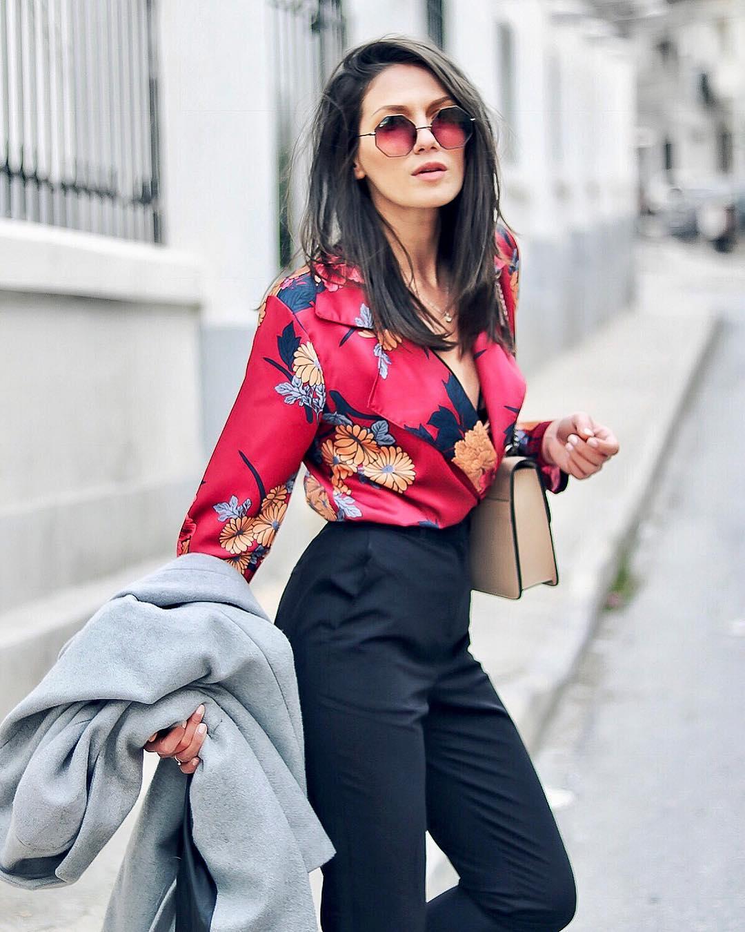 модные блузки и рубашки фото 1