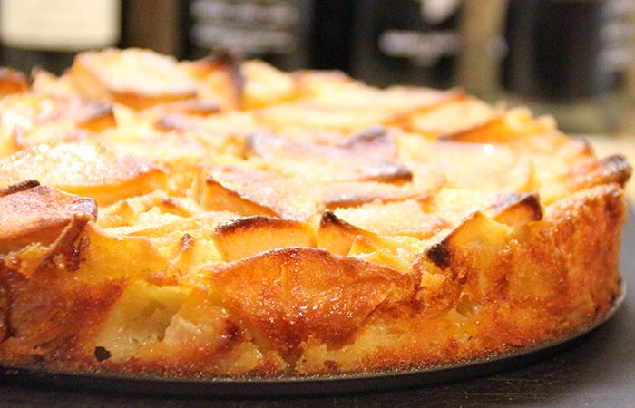 Тыквенно-яблочный пирог