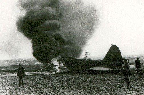 Первый из 1418 в битве за воздух