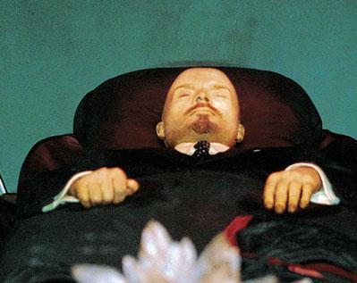 Ленин умер, но тело его живет...