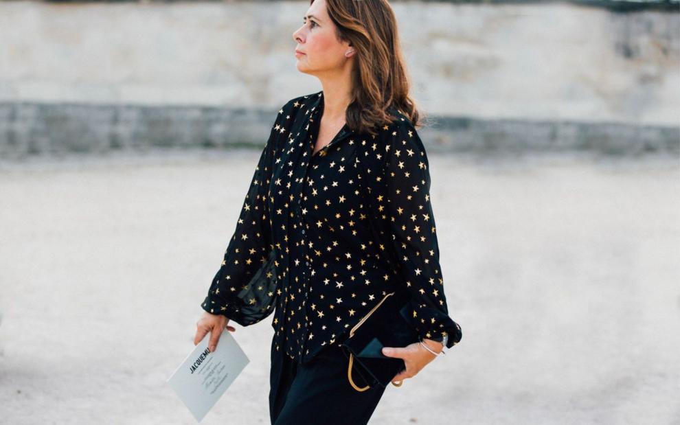Одеться как: Александра Шульман, бывший главный редактор Vogue UK