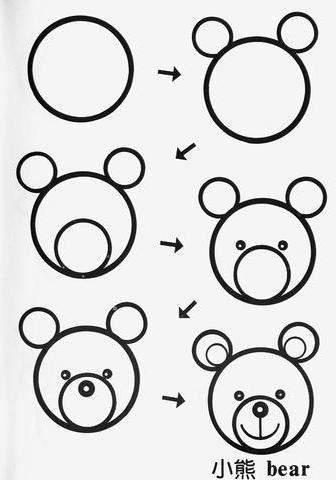 Простые рисунки из кругов