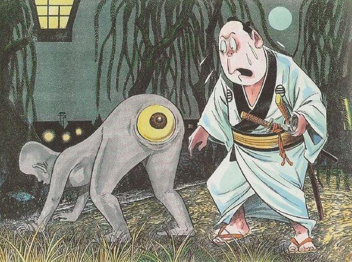 10 причудливых существ из японского фольклора, вызывающих неоднозначные чувства