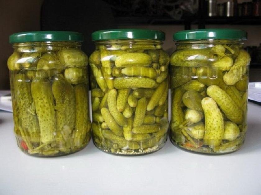 соленые огурцы для пищеварения