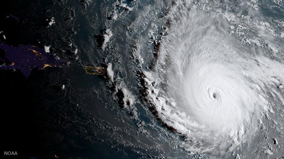 """Ураган """"Ирма"""" добрался до Доминиканской республики"""