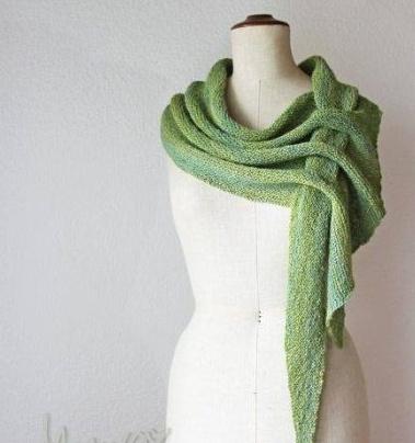 Необычный шарф-платок
