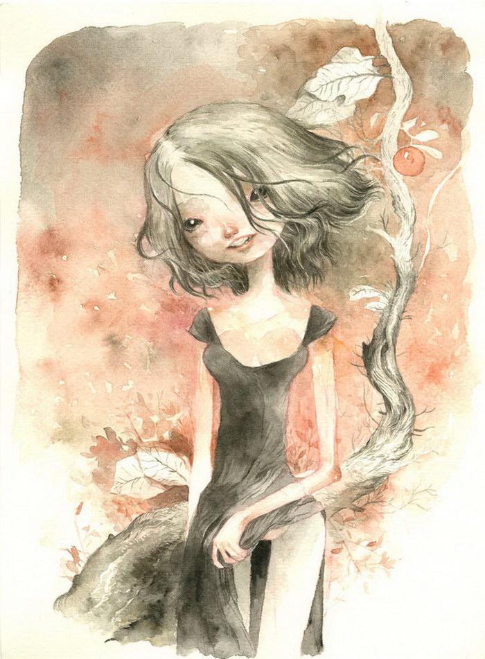 Странные рисунки Tony Sandoval