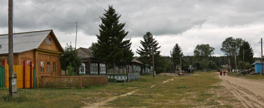 Тайны села Окунево