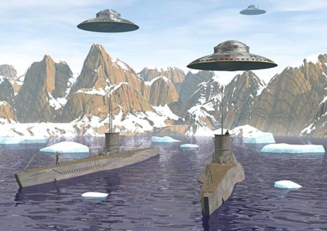 Какие «НЛО» на самом деле прогнали американский флот из Антарктиды.