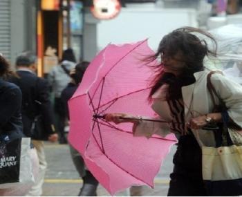 """Тайфун """"Лан"""" в Японии"""