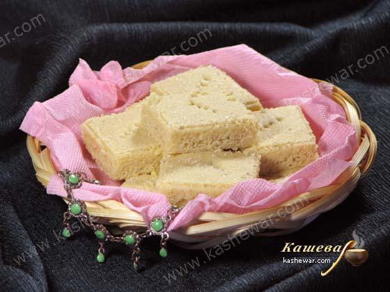 Песочное печенье с кардамоном