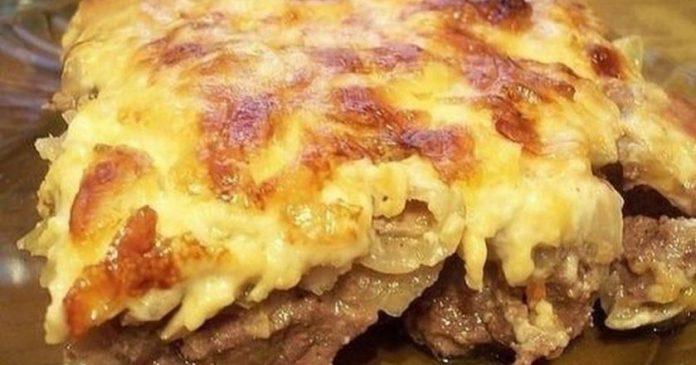 Беспроигрышное сочетание картофеля и мяса. Блюдо достойно ресторана!
