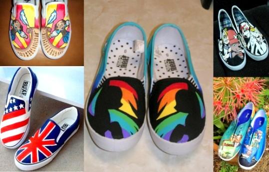 Как украсить обувь своими ру…