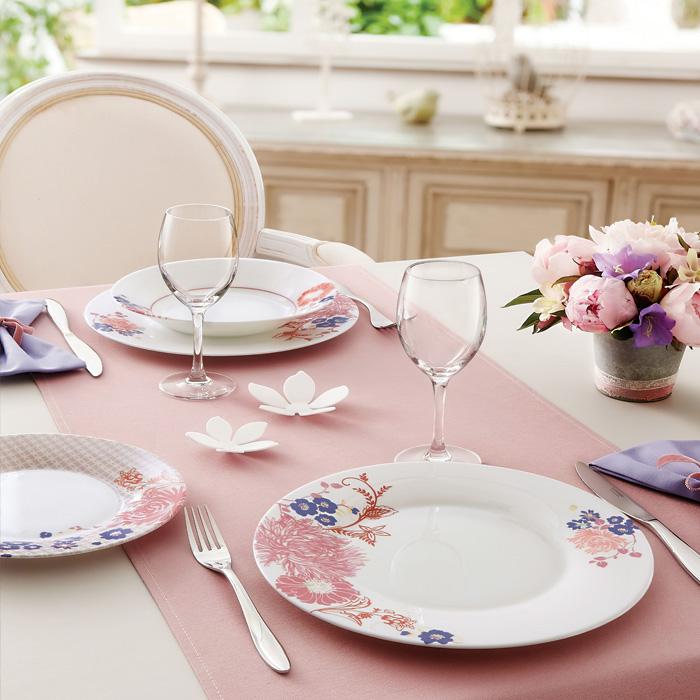 Совет № 4. Подбираем посуду подходящего цвета