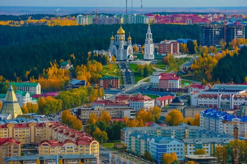 Ханты-мансийск: фотографии города без комментариев
