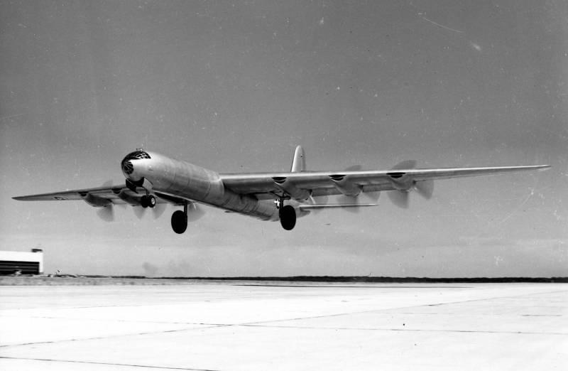 Межконтинентальный стратегический бомбардировщик Convair B-36 «Peacemaker»