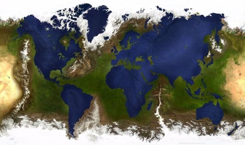 17 удивительных карт мира, которые нам не показывали в школе