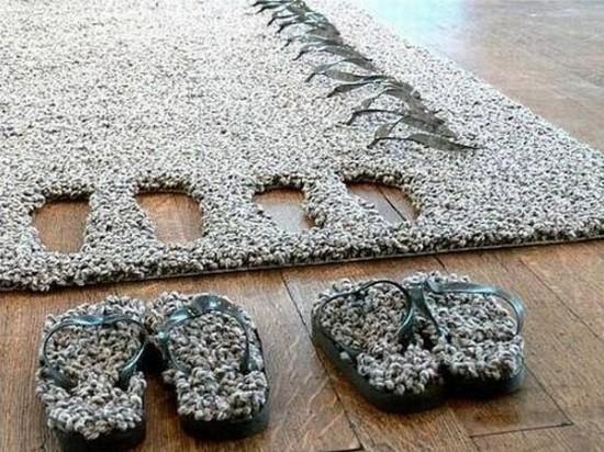 Оригинальный коврик для гостиной