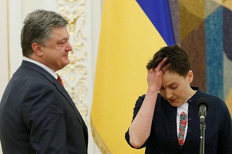 Савченко выйдет из тюрьмы на…