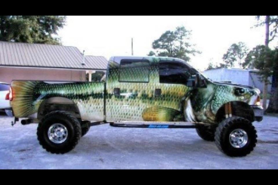 автомобиль для рыбака