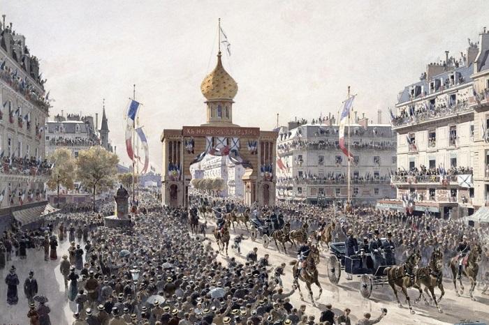 ВИЗИТ РУССКОЙ ЭСКАДРЫ ВО ФРАНЦИЮ В 1893 ГОДУ