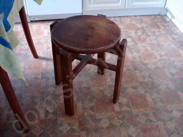 Как из табуретки сделать столик