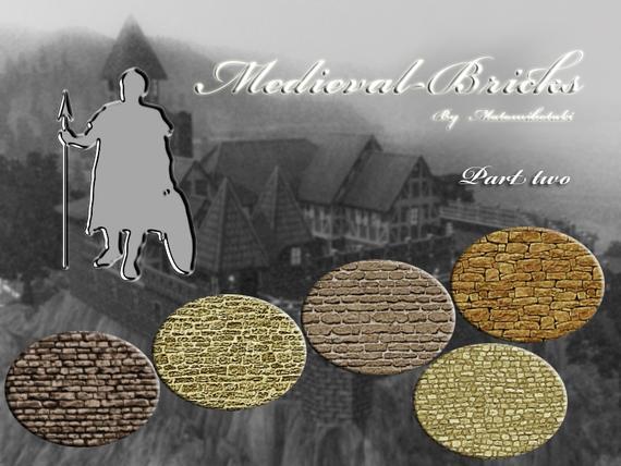 Средневековые кирпичи от matomibotaki