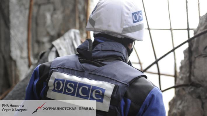 Украинские националисты под видом ополченцев издеваются над ОБСЕ