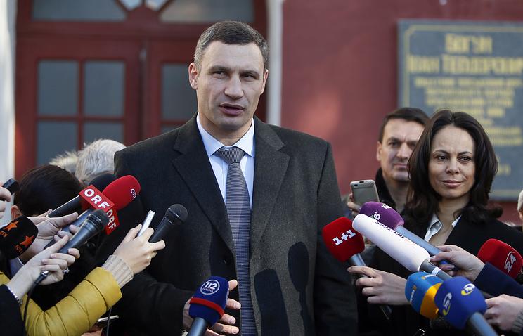 Новости Украины: В Киеве инициирован сбор подписей за отставку Виталия Кличко