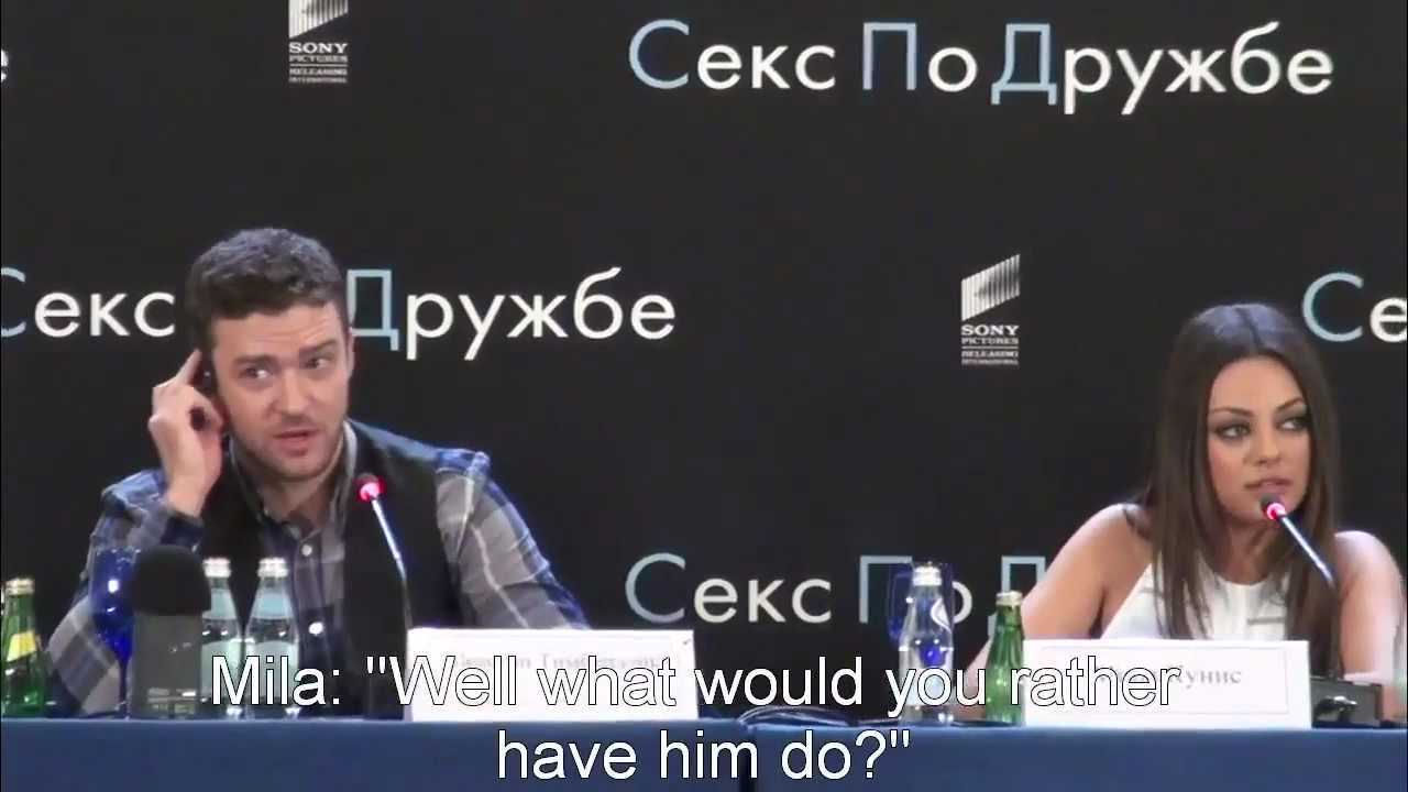 Картинки по запросу Mila Kunis Tells Off A Reporter In Fluent Russian