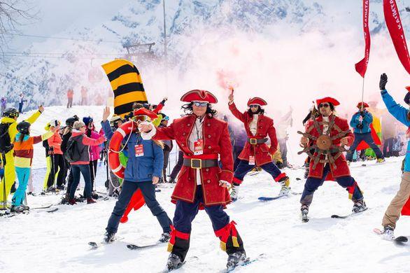 В Сочи прошел высокогорный карнавал