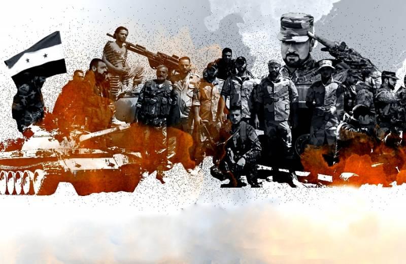 "Сирийский армейский спецназ ""Силы Тигра"": история создания, боевой потенциал"