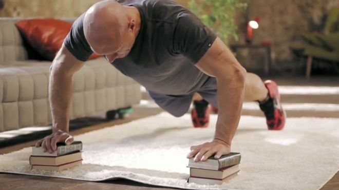 упоры для отжиманий книги