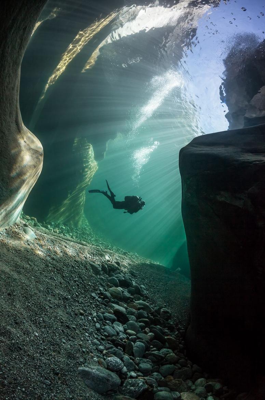 Самая прозрачная река в мире