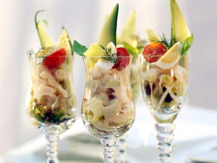 Оригинальный банановый салат — никого не оставит равнодушным!