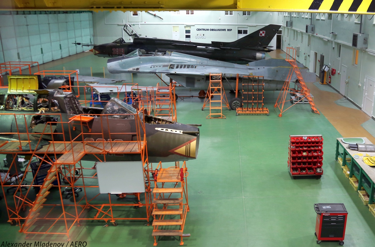 Работы по модернизации самолетов Су-22 и МиГ-29 ВВС Польши