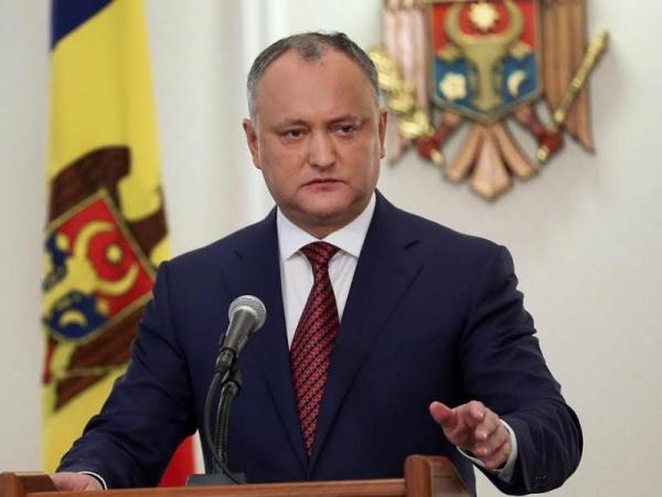 Додон: Молдавия ненадеется наевроинтеграцию