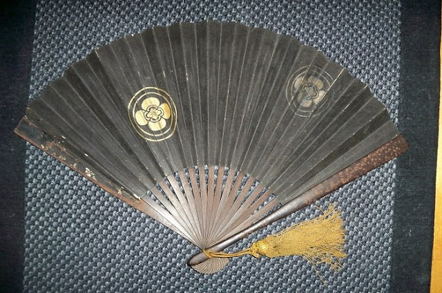 Боевые веера - оригинальное, но грозное оружие японских воинов