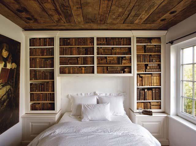 библиотека в доме фото