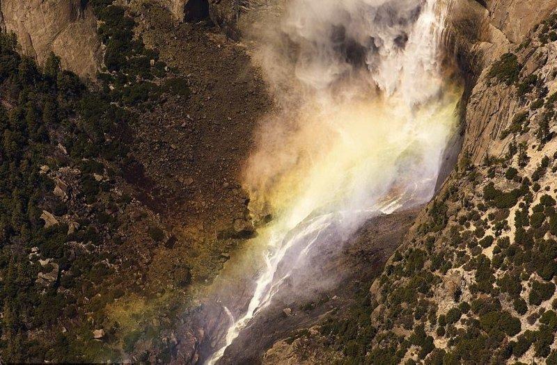 Водопад в национальном парке Йосемити, штат Калифорния америка, вид, высота, мир, пейзаж, природа, фотография
