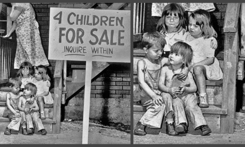 """""""Продам четверых детей"""". Как сложилась жизнь детей со скандальной фотографии 1948 года"""