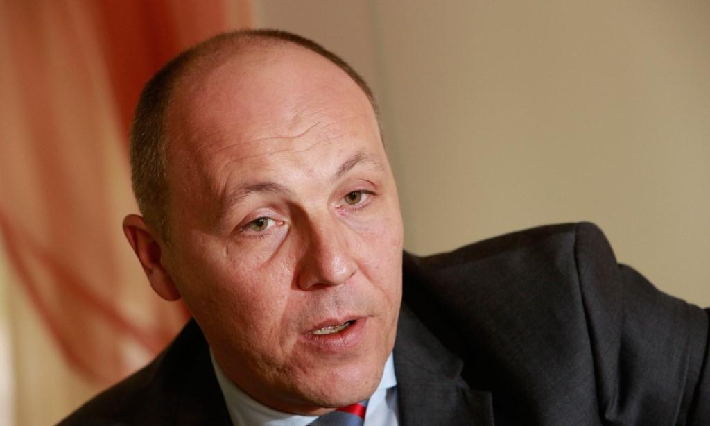 Парубий захотел вернуть Крым