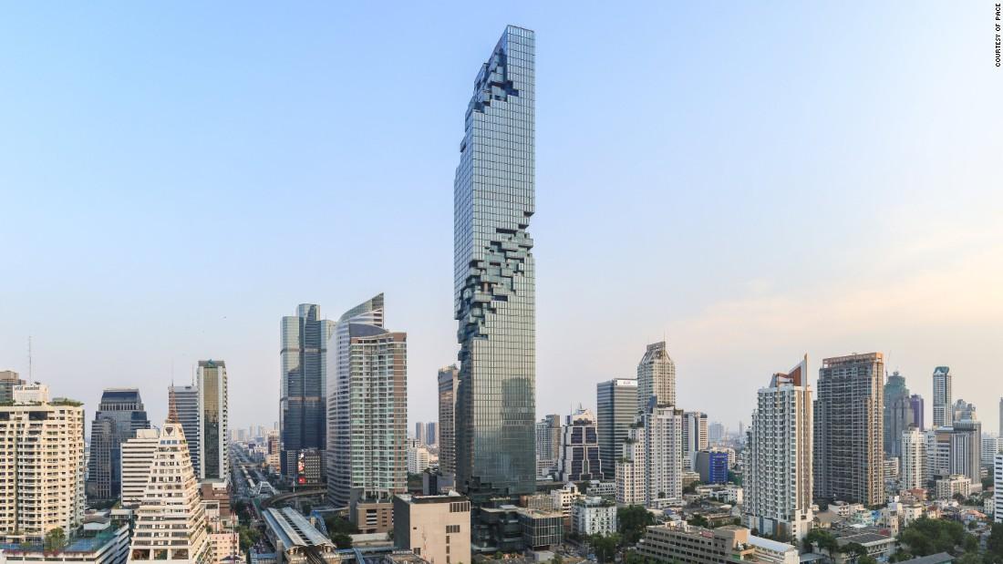 Удивительный небоскреб в Таиланде