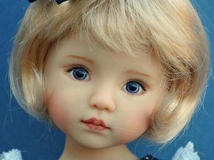 Удивительно нежные куклы Дианы Эффнер (Dianna Effner)