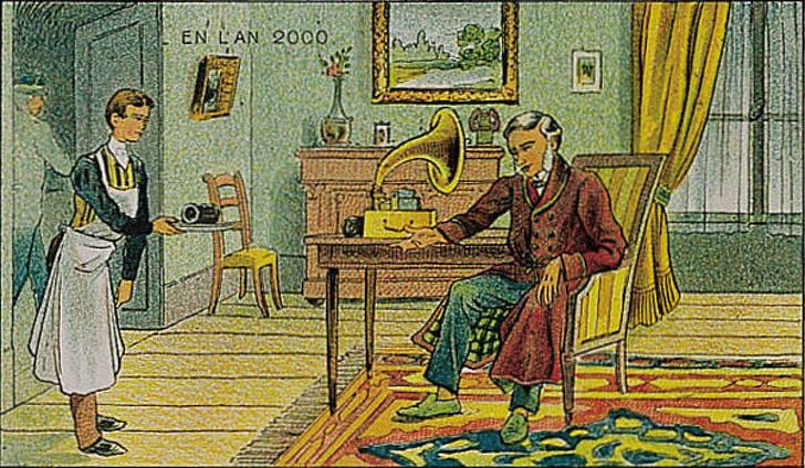 20+ фото о том, как представляли себе наше время люди 100 лет назад