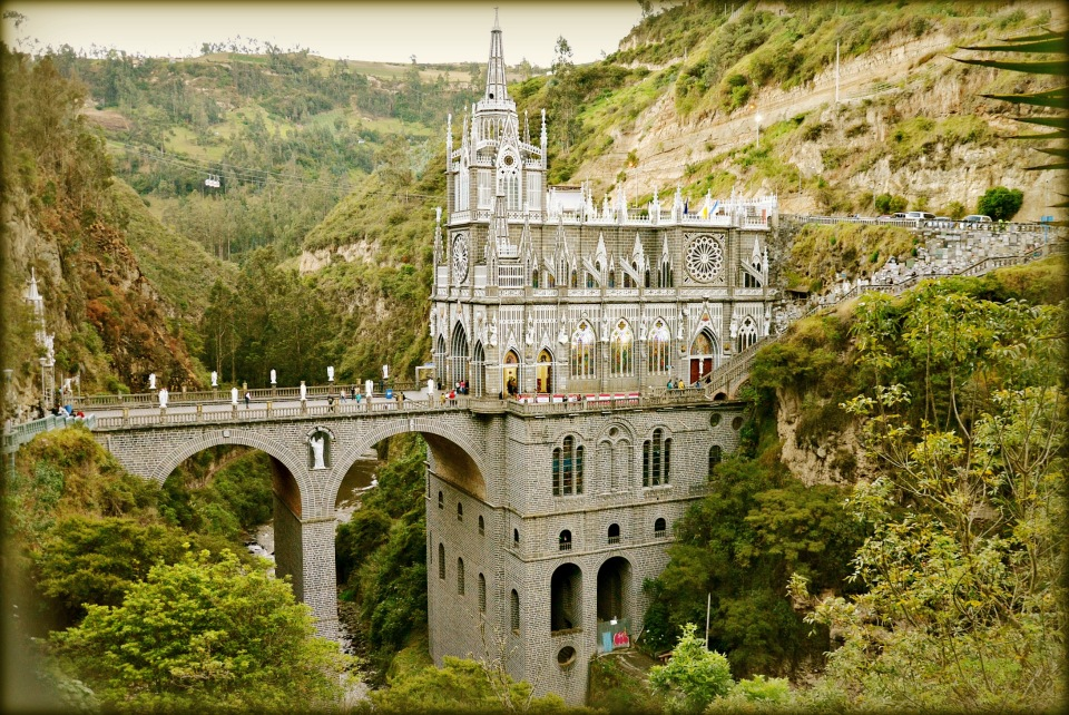 Базилика Лас-Лахас - колумбийское чудо