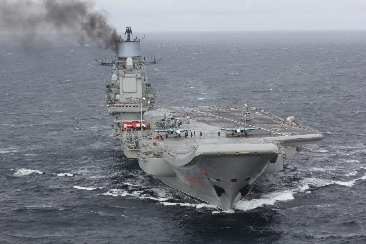Авианесущая группа ВМФ России возвращается домой